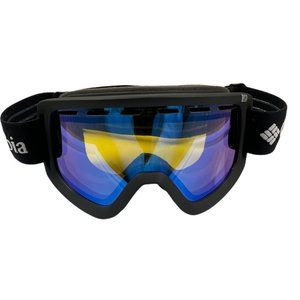 Columbia All Black/ Iridescent Lens Ski Goggles